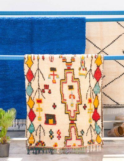 Atelier de lavage écologique spécialisé en tapis Berbère - secret berbere purete